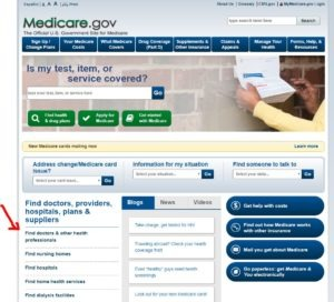 finding medicare providers